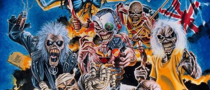 Iron Maiden выступает с неизменным талисманом Эдди, Музыкальный Портал α