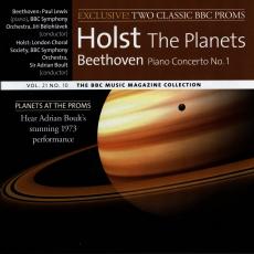 Обложка альбома BBC Music, Volume 21, Number 10: Holst: The Planets / Beethoven: Piano Concerto No. 1, Музыкальный Портал α
