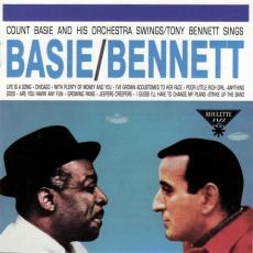 Обложка альбома Count Basie and His Orchestra Swings, Tony Bennett Sings, Музыкальный Портал α