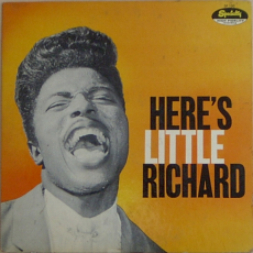 Обложка альбома Here's Little Richard, Музыкальный Портал α