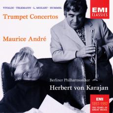 Обложка альбома Hummel, L. Mozart, Telemann, Vivaldi: Trumpet Concertos, Музыкальный Портал α