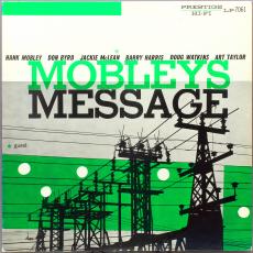 Обложка альбома Mobley's Message, Музыкальный Портал α