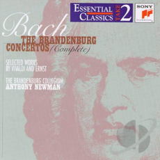 The Brandenburg Concertos (Complete) / Selected Works by Vivaldi and Erns, Музыкальный Портал α