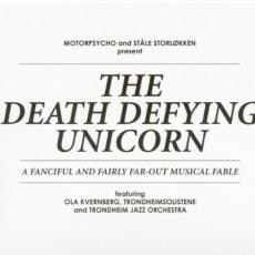 Обложка альбома The Death Defying Unicorn, Музыкальный Портал α