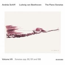 Обложка альбома The Piano Sonatas, Volume VII: Sonatas opp. 90, 101 and 106, Музыкальный Портал α