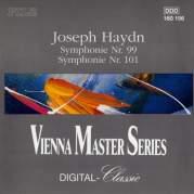 """Обложка альбома Symphonies nos. 99, 101 """"Clock"""", Музыкальный Портал α"""