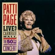 Обложка альбома Patti Page Live at Carnegie Hall, Музыкальный Портал α