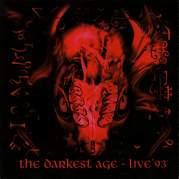 Обложка альбома The Darkest Age - Live '93, Музыкальный Портал α