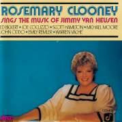 Обложка альбома Rosemary Clooney Sings the Music of Jimmy Van Heusen, Музыкальный Портал α