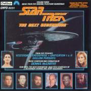 Обложка альбома Star Trek: The Next Generation, Volume 3: Yesterday's Enterprise / Unification, Parts 1 & 2 / Hollow Pursuits, Музыкальный Портал α