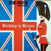 Обложка альбома Stan Kenton: Birthday in Britain, Музыкальный Портал α