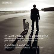 Обложка альбома 20th Century Tuba Concertos, Музыкальный Портал α