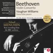 Обложка альбома BBC Music, Volume 20, Number 4: Violin Concerto / Dona nobis pacem, Музыкальный Портал α