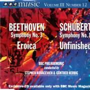 BBC Music, Volume 3, Number 12: Beethoven: Symphony No. 3 Eroica / Schubert: Symphony No. 8 Unfinished, Музыкальный Портал α