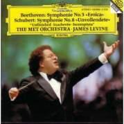 """Обложка альбома Beethoven: Symphonie no. 3, Es-dur, op. 55, """"Eroica"""" / Schubert Symphonie no. 8, h-moo, D 759, """"Unvollendete"""", Музыкальный Портал α"""