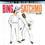 Обложка альбома Bing & Satchmo, Музыкальный Портал α