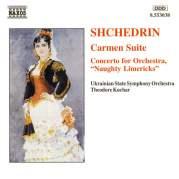 """Обложка альбома Carmen Suite / Concerto for Orchestra """"Naughty Limericks"""", Музыкальный Портал α"""
