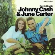 Обложка альбома Carryin' On With Johnny Cash & June Carter, Музыкальный Портал α