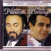 Обложка альбома Castle Masters Collection (Pavarotti & Domingo), Музыкальный Портал α