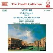 Обложка альбома Cello Concerti, Volume 2: RV 400, 401, 408, 412, 422, 531, Музыкальный Портал α