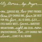 Обложка альбома City Chorus, Музыкальный Портал α
