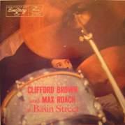 Обложка альбома Clifford Brown and Max Roach at Basin Street, Музыкальный Портал α