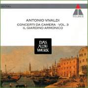 Обложка альбома Concerti da Camera, Volume 3, Музыкальный Портал α
