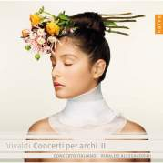 Обложка альбома Concerti per archi II, Музыкальный Портал α