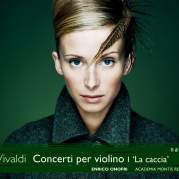 Обложка альбома Concerti per violino I 'La caccia', Музыкальный Портал α