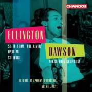 """Обложка альбома Ellington: Suite from """"The River"""" / Harlem / Solitude / Dawson: Negro Folk Symphony, Музыкальный Портал α"""