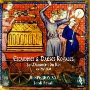 Обложка альбома Estampies & danses royales, Музыкальный Портал α