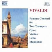 Обложка альбома Famous Concerti for Two Trumpets, Oboe, Violins, Cello, Mandolins, Музыкальный Портал α