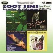 Обложка альбома Four Classic Albums (Stretching Out / Starring Zoot Sims / Down Home / The Jazz Soul of Porgy and Bess) [Remastered], Музыкальный Портал α