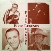 Обложка альбома Four Legends, Музыкальный Портал α