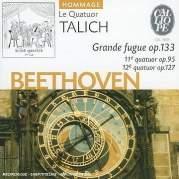 Обложка альбома Grande Fugue, op. 133 / 11e quatuor, op. 95 / 12e quatuor, op. 127, Музыкальный Портал α