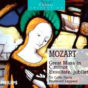 Обложка альбома Great Mass in C minor / Exsultate, jubilate, Музыкальный Портал α