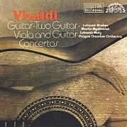 Обложка альбома Guitar, Two Guitar and Viola and Guitar Concertos, Музыкальный Портал α