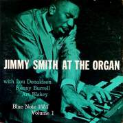 Обложка альбома Jimmy Smith at the Organ, Volume 1, Музыкальный Портал α
