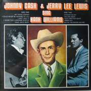Обложка альбома Johnny Cash & Jerry Lee Lewis Sing Hank Williams, Музыкальный Портал α