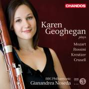 Karen Geoghegan plays Mozart, Rossini, Kreutzer, Crusell, Музыкальный Портал α