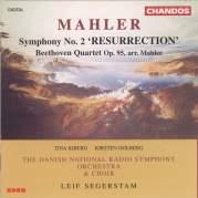 """Обложка альбома Mahler: Symphony no. 2 """"Resurrection"""" / Beethoven: Quartet, op. 95, Музыкальный Портал α"""