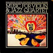 Обложка альбома Music for Violin & Jazz Quartet, Музыкальный Портал α