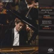 Обложка альбома Piano Concertos 4 & 5, Музыкальный Портал α