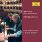 Обложка альбома Piano Concertos Nos. 2, 3 (Mahler Chamber Orchestra feat. conductor: Claudio Abbado, piano: Martha Argerich), Музыкальный Портал α