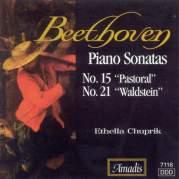 """Обложка альбома Piano Sonatas no. 15 """"Pastoral"""" / no. 21 """"Waldstein"""", Музыкальный Портал α"""