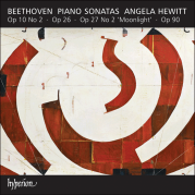 """Обложка альбома Piano Sonatas: Op. 10 no. 2 / Op. 26 / Op. 27 no. 2 """"Moonlight"""" / Op. 90, Музыкальный Портал α"""