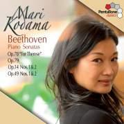 """Обложка альбома Piano Sonatas: Op. 78 """"For Therese"""" / Op. 79 / Op. 14, nos. 1 & 2 / Op. 49, nos. 1 & 2, Музыкальный Портал α"""