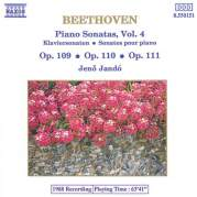Обложка альбома Piano Sonatas, Vol. 4: Op. 109 / op. 110 / op. 111, Музыкальный Портал α