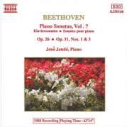 Обложка альбома Piano Sonatas, Volume 7: Op. 26 / Op. 31, nos. 1 & 3, Музыкальный Портал α