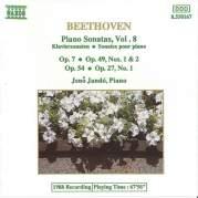 Обложка альбома Piano Sonatas, Volume 8: Op. 7 / Op. 49 nos. 1 & 2 / Op. 54 / Op. 27 no. 1, Музыкальный Портал α